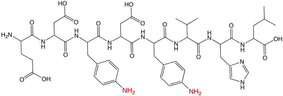Witucki peptide example 1